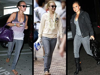 PAIGE SKINNY JEANS photo | Hayden Panettiere