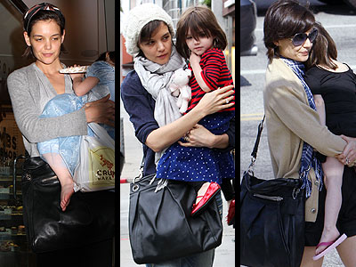 COACH SHOULDER BAG photo | Katie Holmes