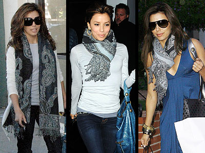 GERARD DARREL SCARF photo | Eva Longoria Parker