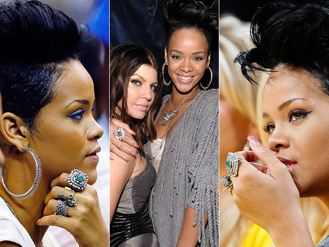 Rihanna's Hairstyles-August 2009. Rihanna's hairstyles August 2009