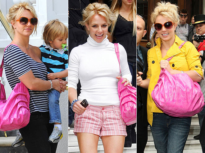 CANDIE'S PINK HOBO photo | Britney Spears