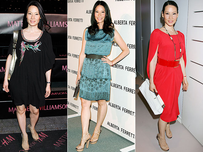 JIMMY CHOO PLATFORMS photo | Lucy Liu