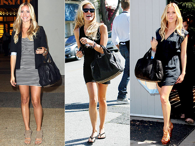 ALEXANDER WANG BAG photo | Kristin Cavallari