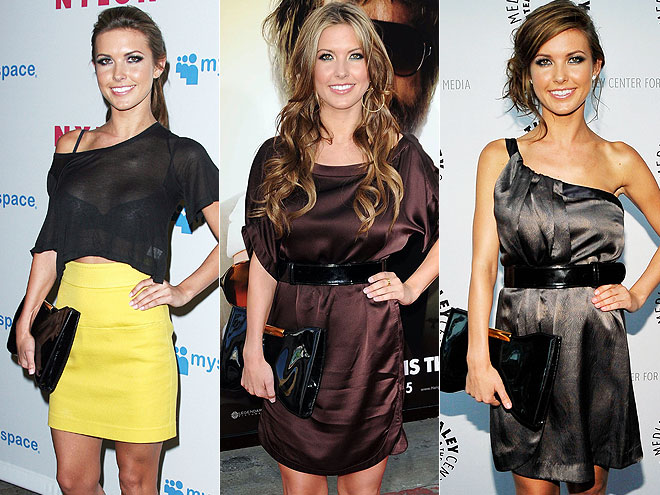 ALEXANDER MCQUEEN PURSE photo | Audrina Patridge
