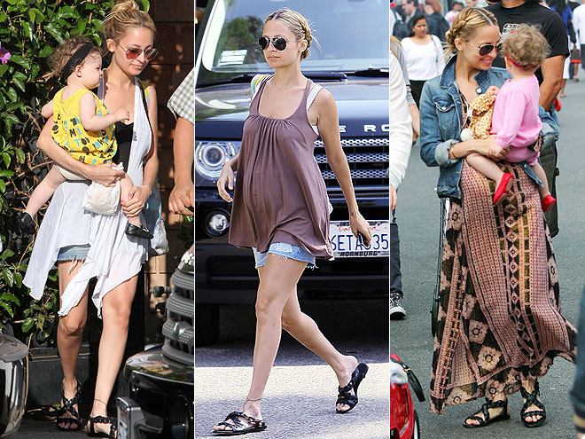 MODERN VINTAGE SANDALS photo | Nicole Richie