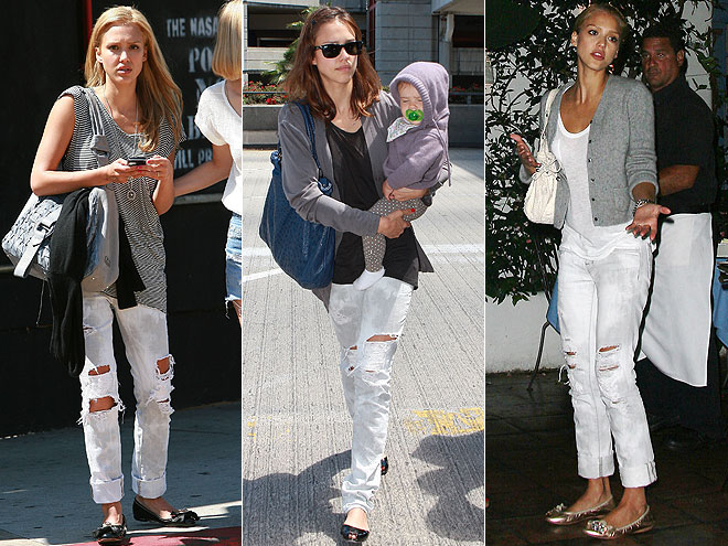 J BRAND JEANS  photo | Jessica Alba