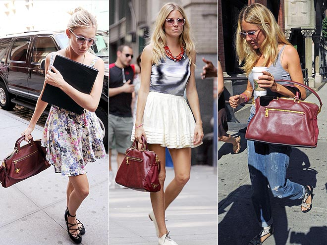 PRADA PURSE photo | Sienna Miller
