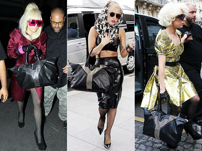 YVES SAINT LAURENT TOTE photo | Lady Gaga