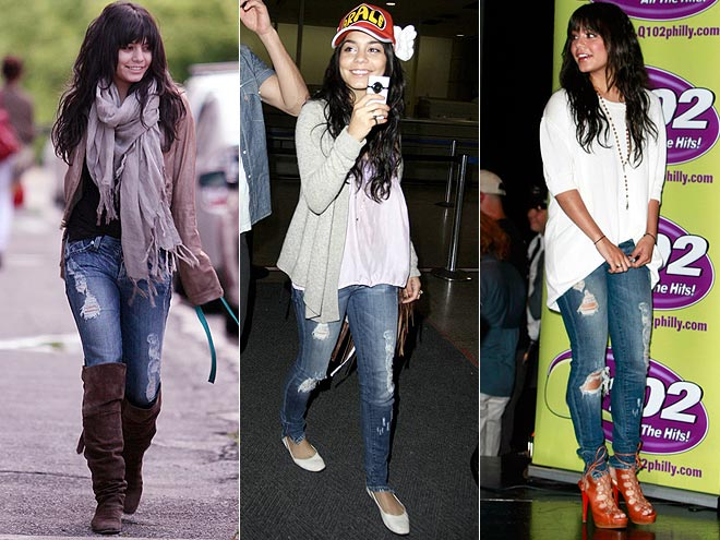 DYLAN GEORGE JEANS  photo | Vanessa Hudgens