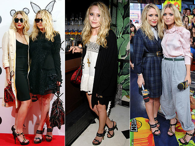 PRADA SANDALS photo | Ashley Olsen, Mary-Kate Olsen