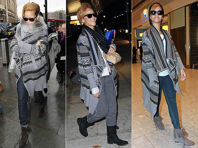 YIGAL AZROUEL WRAP photo | Rihanna