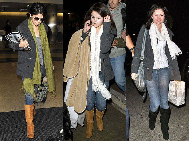 HURLEY COAT photo | Selena Gomez