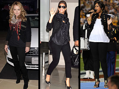 MILITARY JACKETS  photo | Becki Newton, Beyonce Knowles, Jennifer Hudson