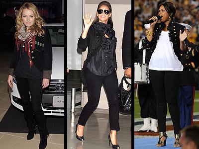 MILITARY JACKETSphoto | Becki Newton, Beyonce Knowles, Jennifer Hudson