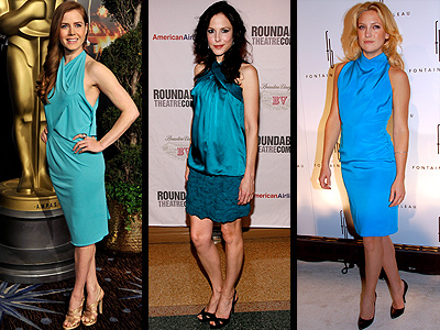 TURQUOISE DRESSES photo | Amy Adams, Kate Hudson, Mary-Louise Parker