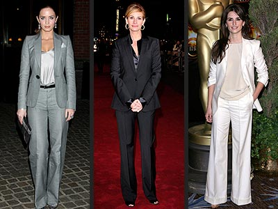 MONOCHROMATIC PANTSUITS