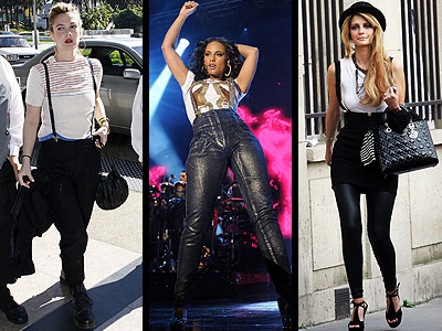 SUSPENDERS  photo | Alicia Keys, Drew Barrymore, Mischa Barton