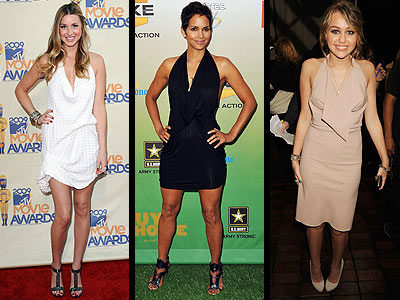 COWL HALTER DRESSES