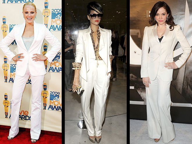 photo | Malin Akerman, Rihanna, Rose McGowan