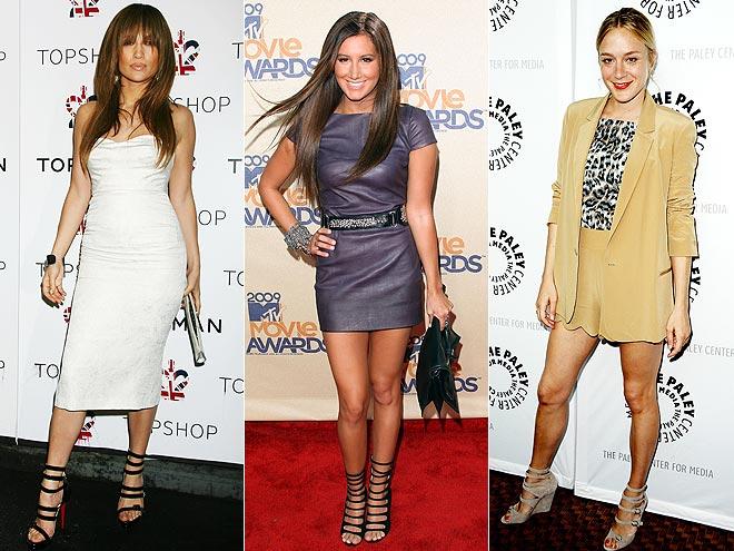 MULTI-STRAP SANDALSphoto | Ashley Tisdale, Chlo\u00EB Sevigny, Jennifer Lopez