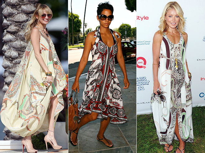 PAISLEY DRESSES photo | Halle Berry, Kelly Ripa, Nicole Richie