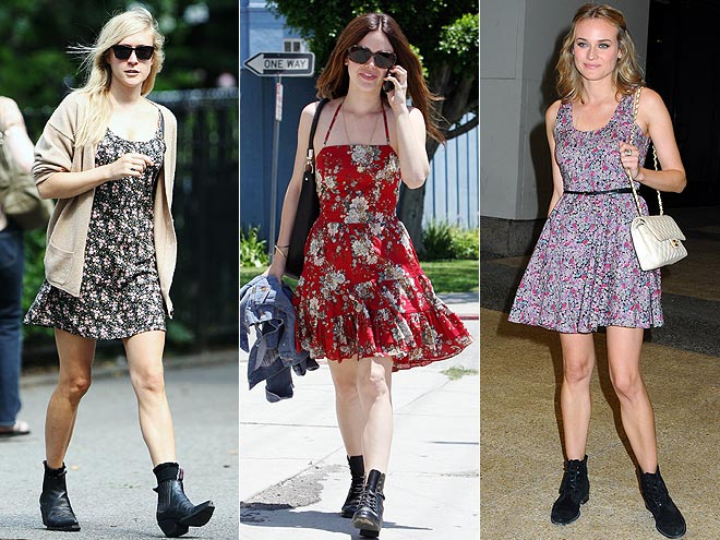 SUNDRESSES AND BOOTS