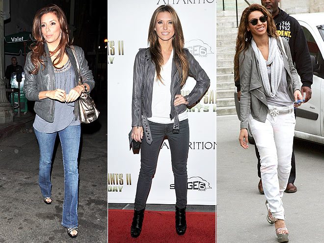GRAY LEATHER JACKETS photo | Would You Wear These Trends