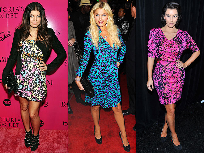 MULTI-COLOR LEOPARD PRINT  photo | Would You Wear These Trends, Fergie, Kim Kardashian, Paris Hilton