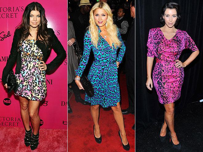 MULTI-COLOR LEOPARD PRINTphoto | Would You Wear These Trends, Fergie, Kim Kardashian, Paris Hilton