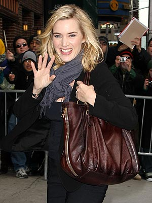 KATE WINSLET'S BAG photo | Kate Winslet
