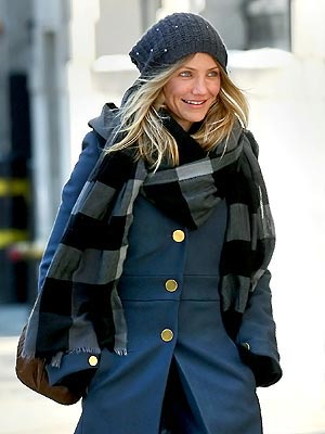 CAMERON DIAZ'S SCARF  photo | Cameron Diaz