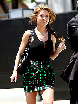 AUDRINA PATRIDGE'S SKIRT  photo | Audrina Patridge