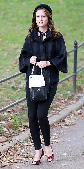 LEIGHTON MEESTER&#39;S COAT  photo | Leighton Meester