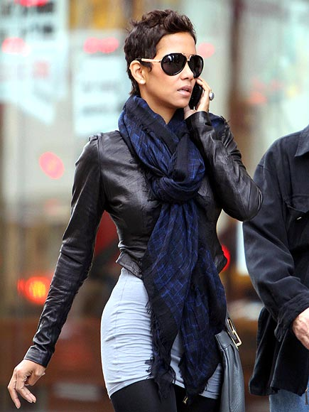 HALLE BERRY'S SHADES AND JACKET photo | Halle Berry