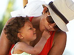Halle Has A Family Fun Day | Halle Berry
