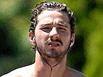Shia LaBeouf Goes Jogging – Shirtless! | Shia LaBeouf