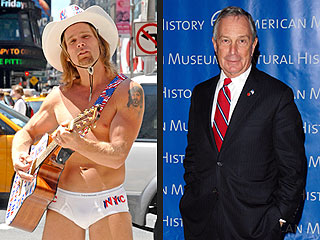 Naked Cowboy Eyes New York Mayor's Office