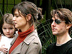 Tom & Suri Pay Katie a Visit | Katie Holmes, Tom Cruise