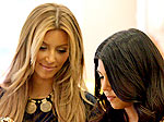Kim & Kourtney Shop for Baby | Kim Kardashian, Kourtney Kardashian