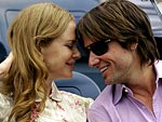 Nicole & Keith Get Cozy at the U.S. Open | Keith Urban, Nicole Kidman