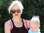Gwen Takes Her Boys to the Park | Gwen Stefani