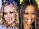 Hilary Duff and Tyra Banks: Gossip's New It Girls | Hilary Duff, Tyra Banks