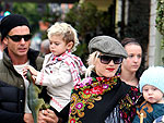 Gwen & Gavins Family Breakfast | Gavin Rossdale, Gwen Stefani