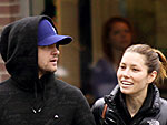 JT & Jessica&#39;s Vegetarian Lunch Date | Jessica Biel, Justin Timberlake