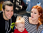 Pete & Ashlee Take Bronx to Disneyland! | Ashlee Simpson, Pete Wentz