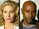 V's Morris Chestnut & Elizabeth Mitchell: It's a Geek Debate!