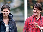 Tom and Katie Take a Romantic Stroll | Katie Holmes, Tom Cruise