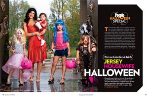Teresa Giudice & Kids: Jersey Housewife Halloween