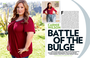 Carnie Wilson Battle of the Bulge
