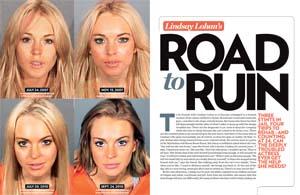 Lindsay Lohan's Road to Ruin